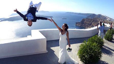 酷玩运动 第一季:极限夫妻婚礼跑酷美如画 大神400米高悬崖走扁带
