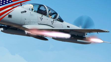 """美军帮助训练阿富汗空军使用A-29""""超级巨嘴鸟""""战机"""