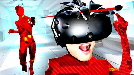 【屌德斯解说】 VR燥热Super Hot 我是一个活在子弹时间里的超能力者!