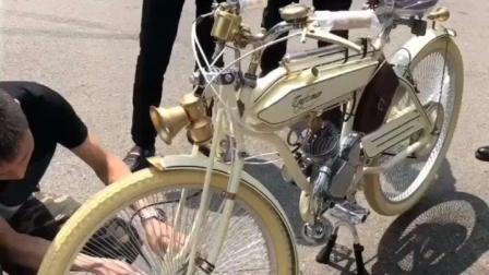 高手在民间, 这才是自行车真正的复古圣品!