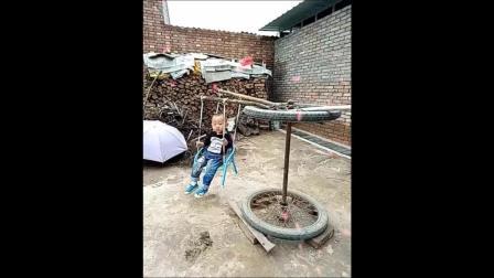 哈哈哈 小时候在农村有这样玩过吗? 反正我玩过