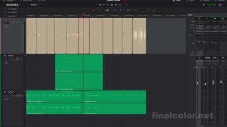 达芬奇14 - fairlight混音页面新功能