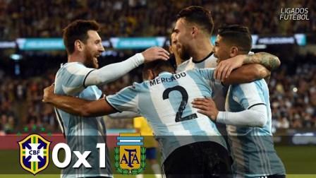 热身赛-天使热苏斯中框铁卫破门 桑保利首秀阿根廷1-0巴西