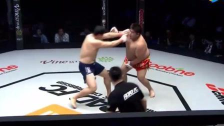 中国拳击和韩国拳击比赛