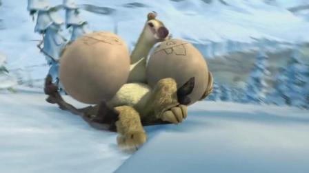 冰川时代3: 树懒希德偷了三只恐龙蛋, 被小恐龙认作妈妈