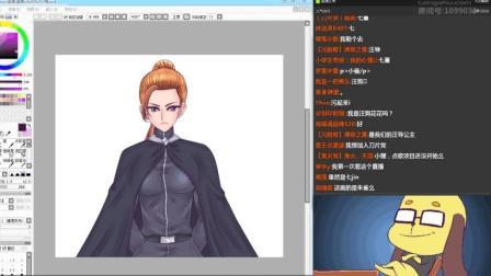 【直播回放】七堇公主画的这个神秘美女会是什么身份呢?
