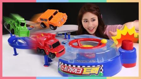 凯利的托宝兄弟赛车跑道玩具游戏 186