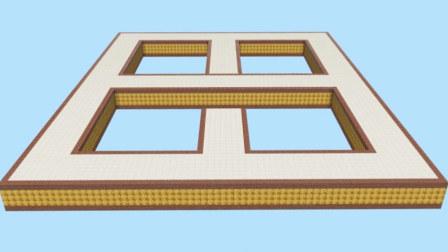 我的世界Minecraft-籽岷的PE1.1 地图 纪念碑谷 视觉欺骗视频