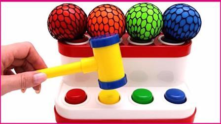 减压球捶捶玩具机玩具试玩 亲子手工扮家家彩虹泡泡 小猪佩奇 奥特曼 蜘蛛侠 火影忍者