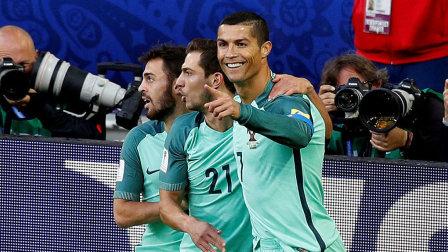 C罗头球破门 葡萄牙屡失良机1-0俄罗斯取首胜