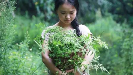 90后美女隐居森林,爱上了沾花惹草