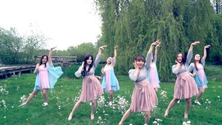 中國風:七朵-揚州慢 舞蹈版 (天舞)溫哥華