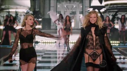 霉霉Taylor Swift维密秀大秀火辣身材