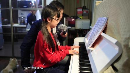 钢琴弹唱 时间煮雨&贝加尔湖畔(喻迨莞尔12岁)