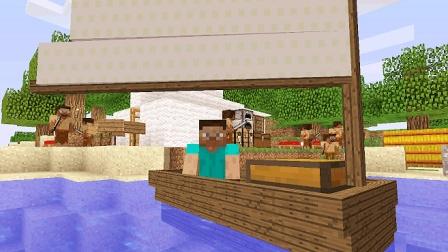 大海解说 我的世界Minecraft 海岛生存打海盗挖宝藏