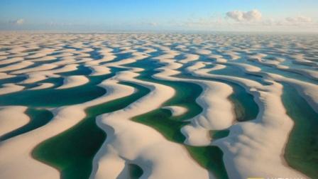 最奇葩的沙漠,水比沙子多,这沙漠就有几千个湖
