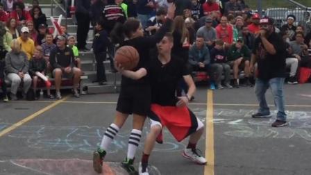 教授、骨头收集者联手野球场虐小朋友, 街头篮球视频