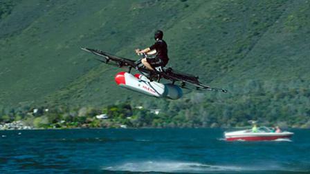 酷玩运动75:  水上飞神器回头率100% 跑酷界成龙楼顶玩倒立