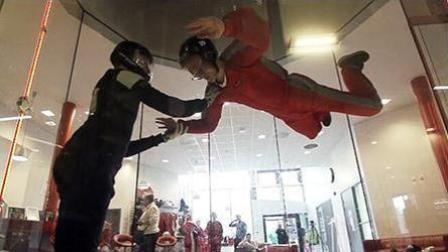 惊不惊喜? 刺不刺激! 不敢跳伞的你虚拟跳伞敢不敢来一发?