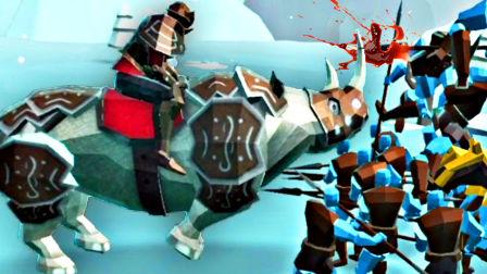【屌德斯解说】 史诗战争模拟器2 全新犀牛骑兵以及海盗军团登场!