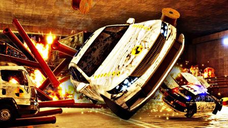 【屌德斯解说】 车祸模拟器 史上最强碰瓷居然用自爆来毁灭证据