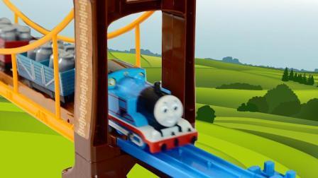 托马斯小火车过危险吊桥 190