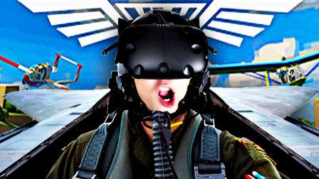 【屌德斯解说】 VR模拟飞行员 这个游戏真的把我给玩吐了!