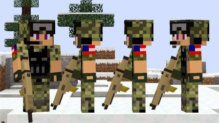 大海解说 我的世界Minecraft 火速救援战地争夺战