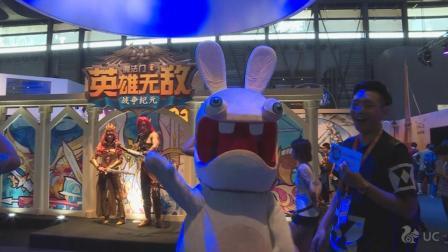 [china joy]疯狂兔子也VR刺客信条 最吸睛育碧参展超强游戏阵容体验