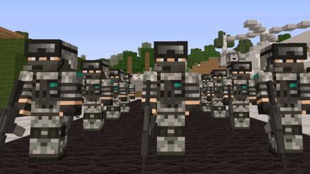 大海解说 我的世界Minecraft 黎明倒计时士兵突击
