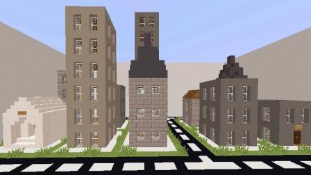 大海解说 我的世界Minecraft 城市大亨建造一座城市