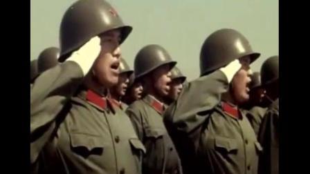 1981年华北大阅兵 77岁的邓小平亲自检阅部队
