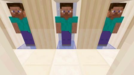 大海解说 我的世界Minecraft 史蒂夫克隆人解密逃生
