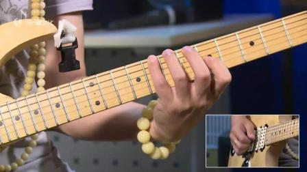 纪斌电吉他教学《打狗棒法》右手跳弦练习