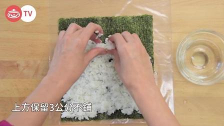 日本寿司大师教你卷寿司秘诀! 不需要竹签! 1分钟学会!