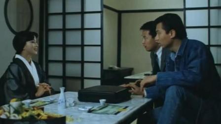 林俊贤为破案暗访日本女优餐厅, 却不知对方是千