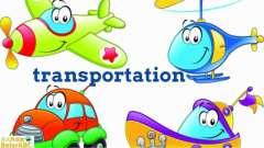 少儿英语学习英语单词- 交通工具Transportation