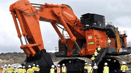 中國超大型挖掘機, 5000噸巨石輕松挖起, 分分秒殺德國機械