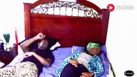 睡觉时给老婆一耳光, 中国媳妇和外国媳妇神反应, 实在没憋住笑!