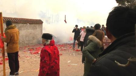 安徽;阜阳龙王庙一天几十万人烧香祈福, 见者一生平安!