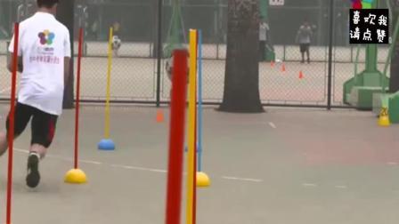 篮球绕杆——中考体育满分视频
