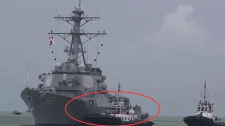 美军核潜艇突然浮出海面撞沉日本渔船 35名船员落水但美军士兵却见死不救