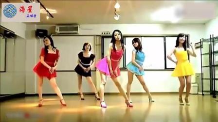 韩国卖萌美女舞团舞蹈室自拍热舞
