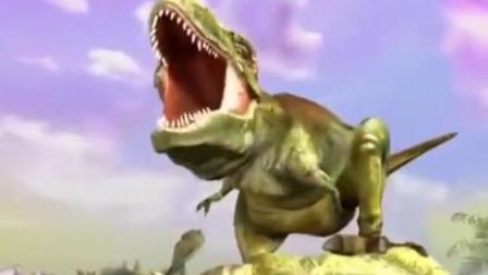 侏罗纪恐龙世界 恐龙格斗 霸王龙疯狂袭击人类 霸王龙与大白鲨的格斗