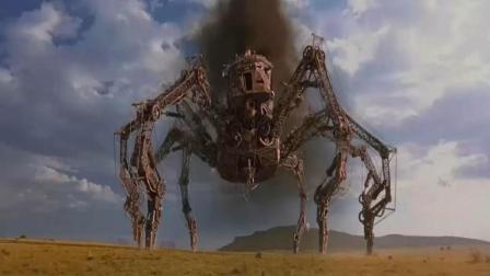 科學怪人制造出大型機械蜘蛛, 輕松干翻軍隊, 戰斗力超強!