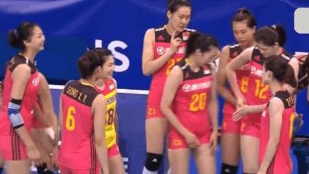 正直播世界女排联赛德国站: 中国队VS德国队, 看女排首发主力出场