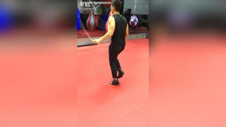 拳击运动员跳绳教学视频