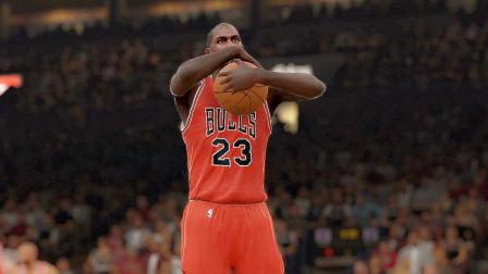 NBA2K15生涯模式:迈克尔乔丹的生涯之路!
