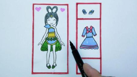 叶罗丽仙子孔雀的画法图片