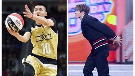 吴亦凡蔡徐坤打篮球视频, 看到哪段你笑了